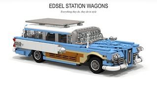 Edsel 1958 Bermuda Wagon