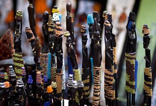 Tribal sticks