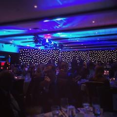 Having a delicious dinner at the @OntarioHBA Awards in #Ottawa! #LifeStoreys