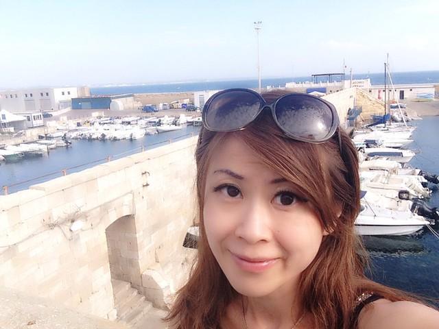 普利亞海邊和城堡,2