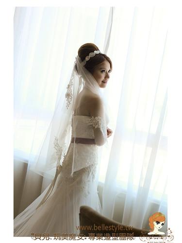 [Wedding] 充滿歐式設計感更格 名媛典雅婚禮現場造型 by 貝兒玩美魔女 林珍卉