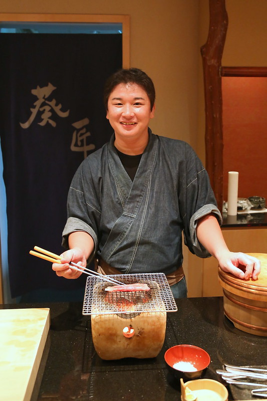 Chef Kazuhiro Hamamoto at Ki-Sho