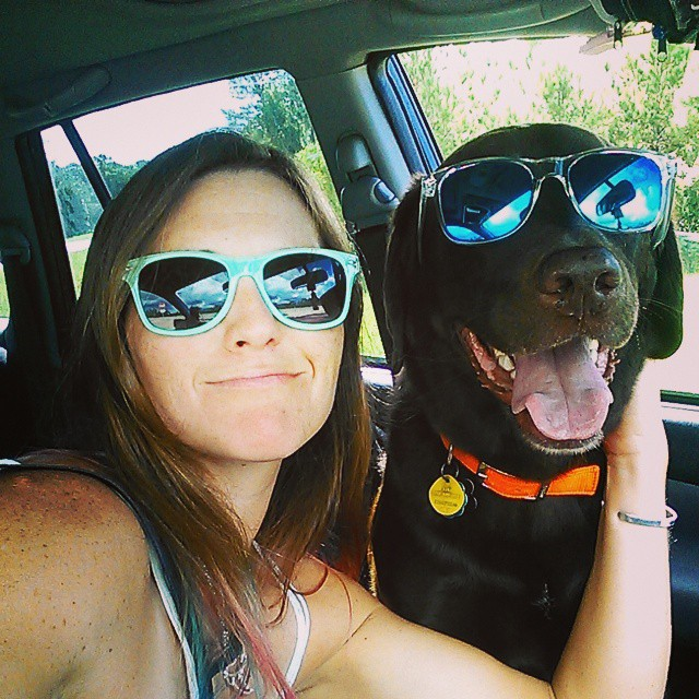 It's just how we roll... #triouradventure #girlsbestfriend #dogsofinstagram
