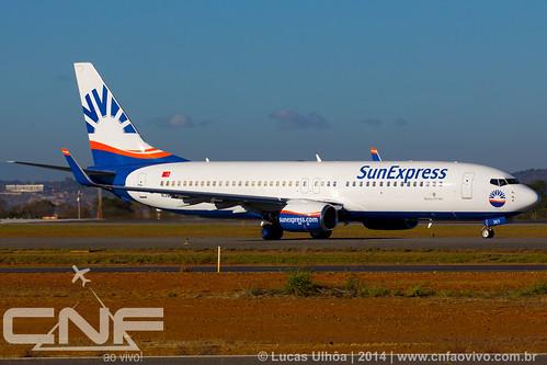 Boeing 737-800 SunExpress N357MS