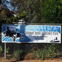 Antique Autos in History Park, San Jose, CA