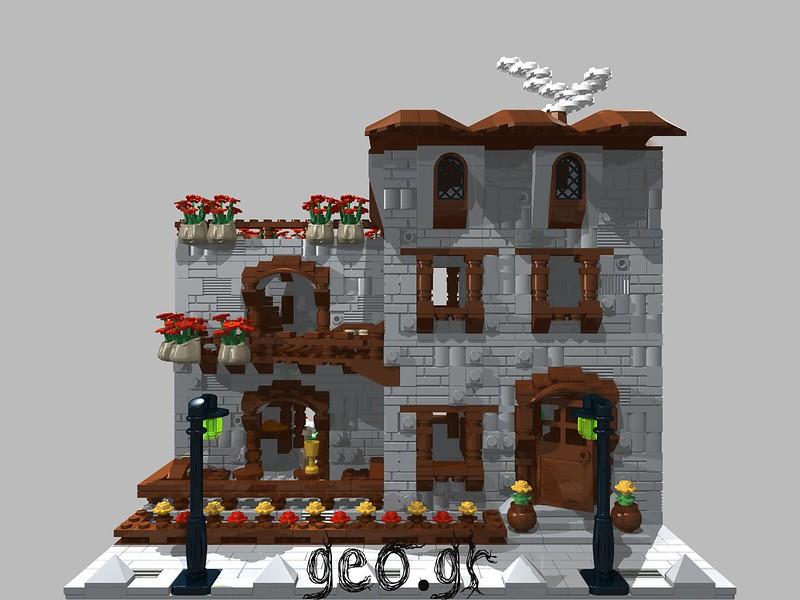 [Digital MOC]:Modular Cottage House 15275433526_a61d3521c7_c