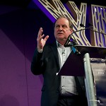 James Naughtie on stage at the Edinburgh International Book Festival |