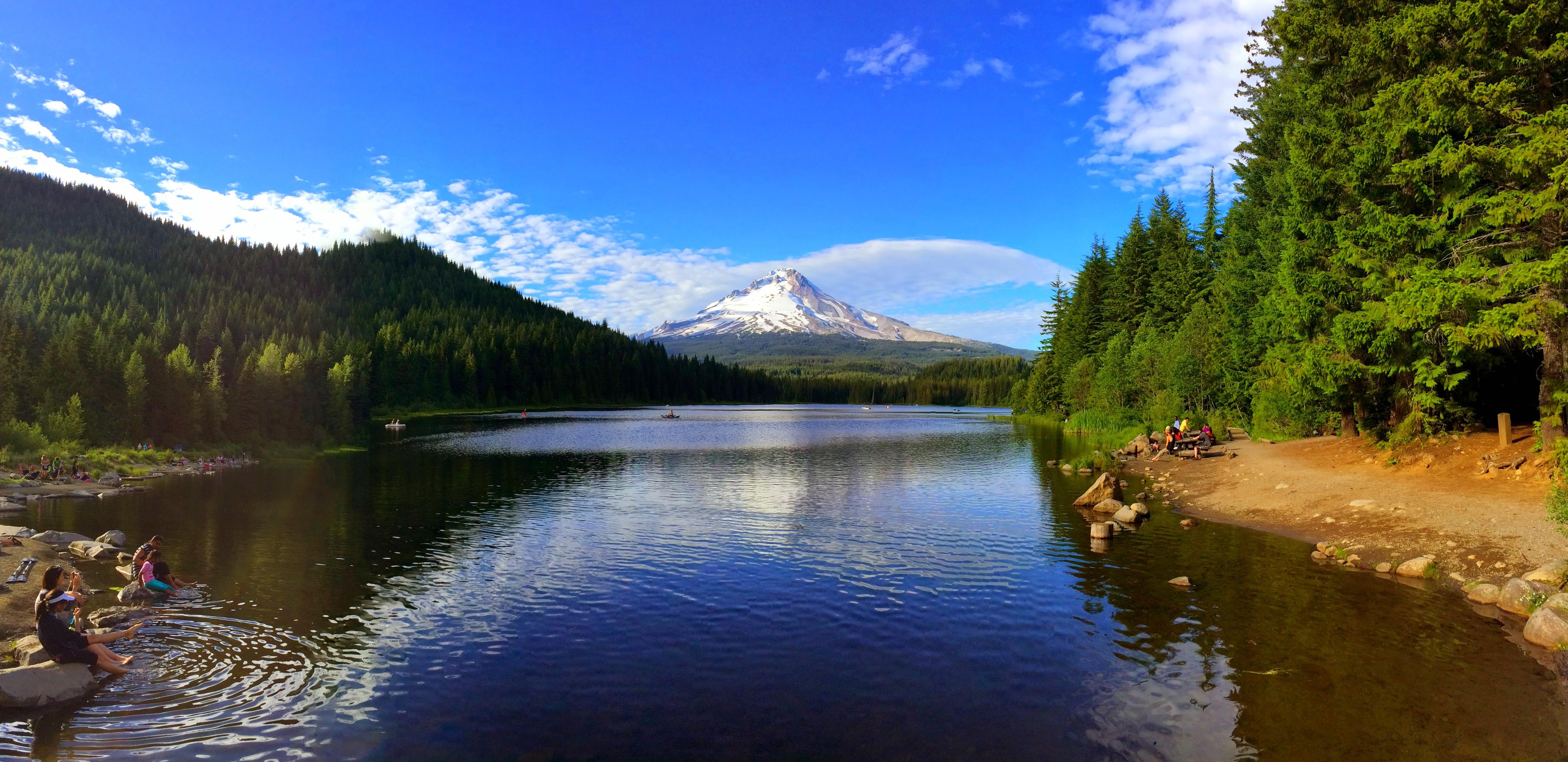 Mt.Hood @ Trillium Lake