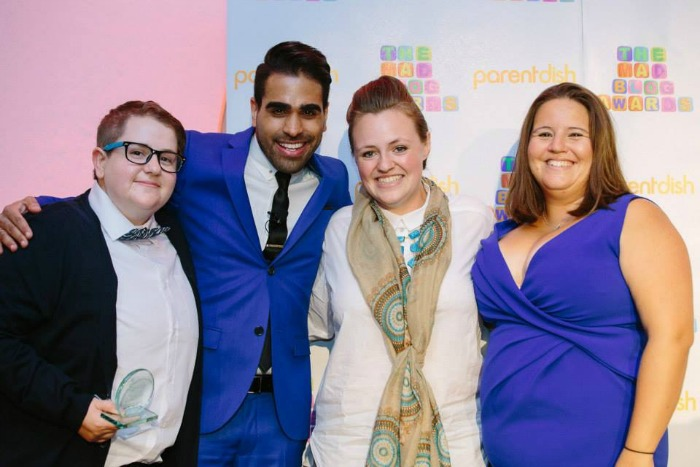 award with dr ranj mad blog awards