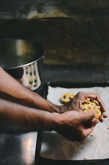 Dried Apricot and Fig Almond Oatmeal Cookies |A Brown Table