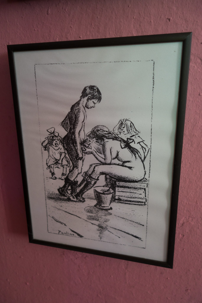 Porn cartoon from the 1890's