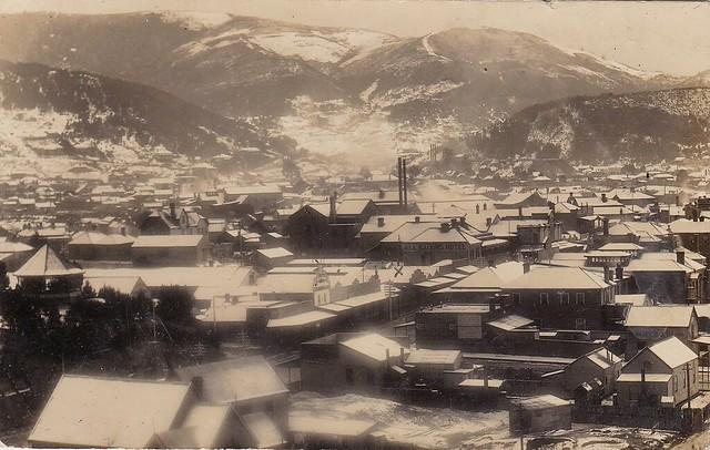ZEEHAN, TASMANIA - 1908