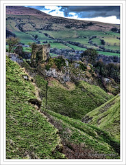 Peveril Castle, Cave Dale, Castleton, Peak District