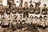 Die Billeder Handballmannschft in den 70er Jahren