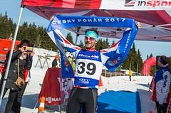 Rauchfuss a Brychtová vyhráli Jesenický zimní triatlon