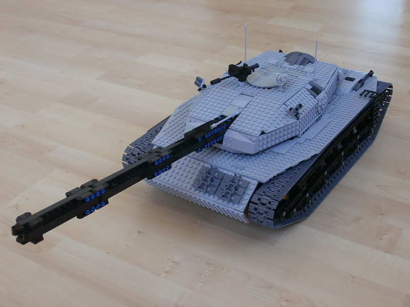 MOC] Mark 6 LEGO Autoloader Tank - LEGO Technic, Mindstorms & Model ...