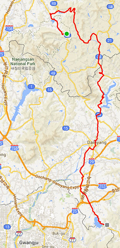 Naejangsan to Damyang