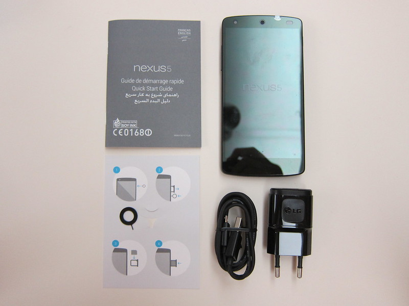 Nexus 5 - Box Contents