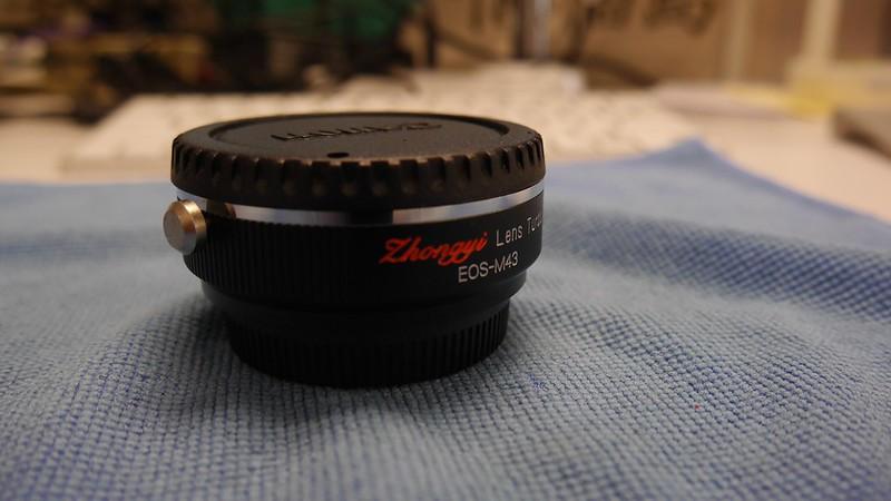 ZhongYi Lens Turbo EF/MFT