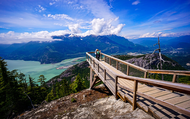The Chief Overlook Viewing Platform (Sea to Sky Gondola)
