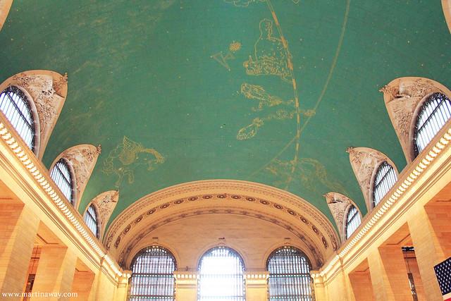 The Sky, Grand Central Terminal