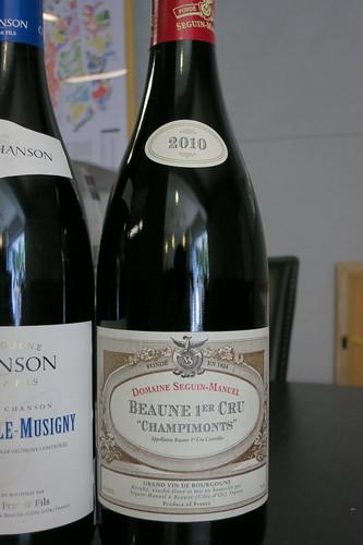 """Beaune 1er """"Champimonts"""" 2011, Seguin Manuel"""