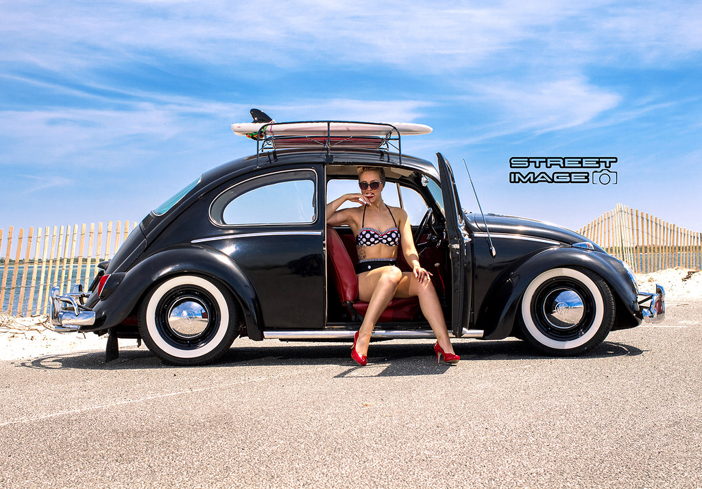 Completely new 1966 VW Beetle pinup shoot -- Transportation in photography-on-the  UU95