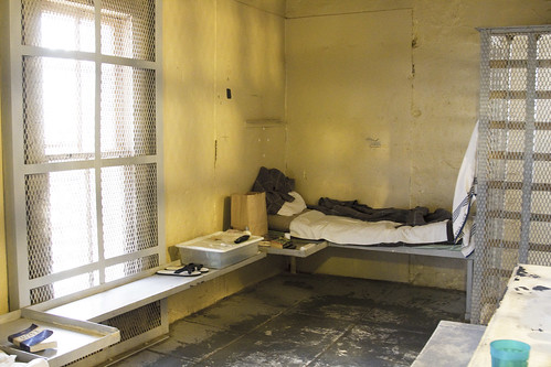 bed texas cell jail bunk dickenscounty sherifdepartment