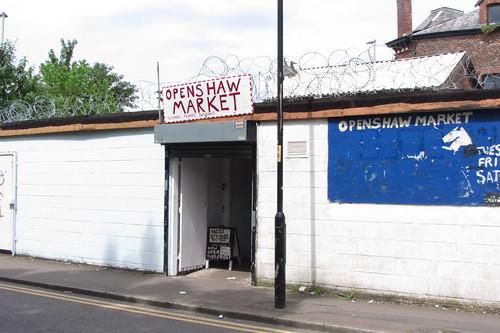 Openshaw Market, Stanley Street entrance