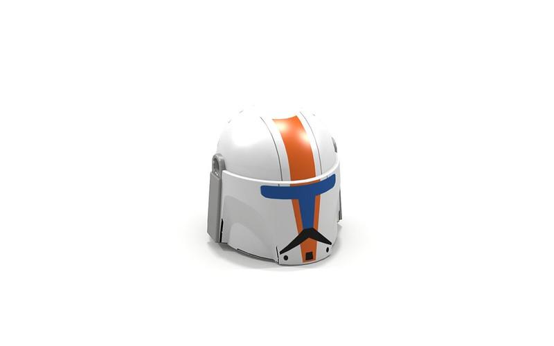 LDD/Pov-Ray 'Boss' Helmet