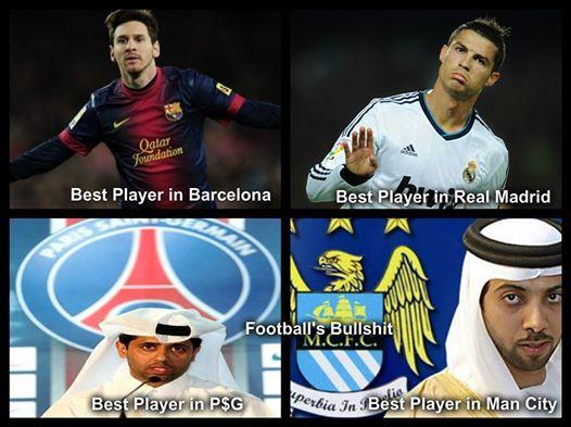 European Team Best Players #Funny - Football