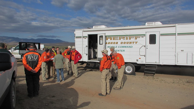 Search for missing man near Nixon, NV