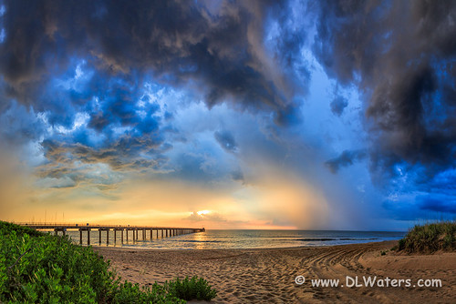 ocean sky storm beach sunrise landscape photography coast nc cloudy northcarolina stormy coastal outerbanks stormysky eastcoast ducknc northcarolinacoast darecounty armycorpsofengineers barrierisland beachphotos duckresearchpier outerbanksphotos outerbanksphotography obxphotos seashorephotos