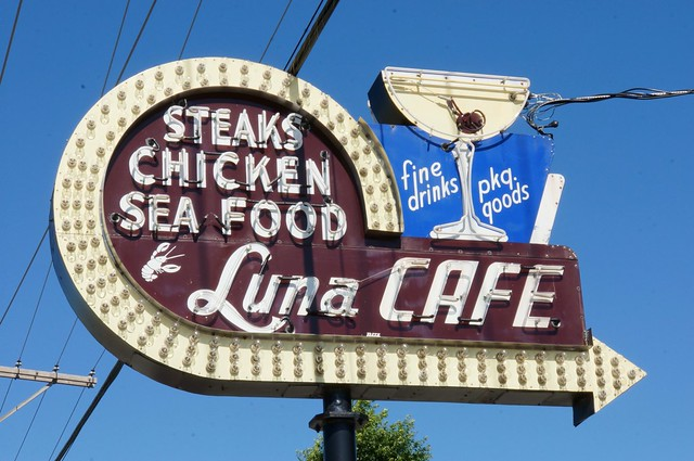 Luna Cafe, Route 66, Mitchell, IL