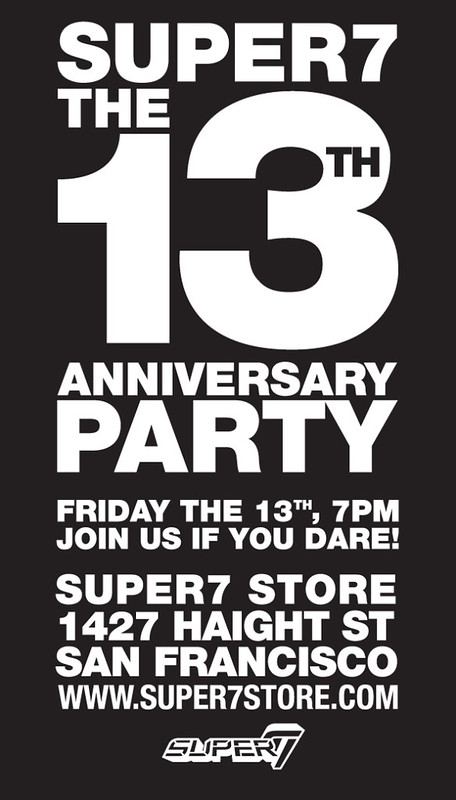 Super 7 13th Anniversary Party