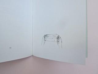 Ortografia della neve, di Francesco Balsamo. incertieditori 2010. Progetto grafico di officina delle immagini. Carta di guardia posteriore (part.), 1