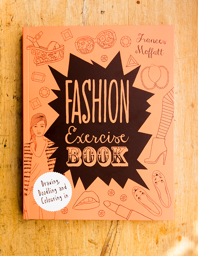 fashion excersise book - front cover