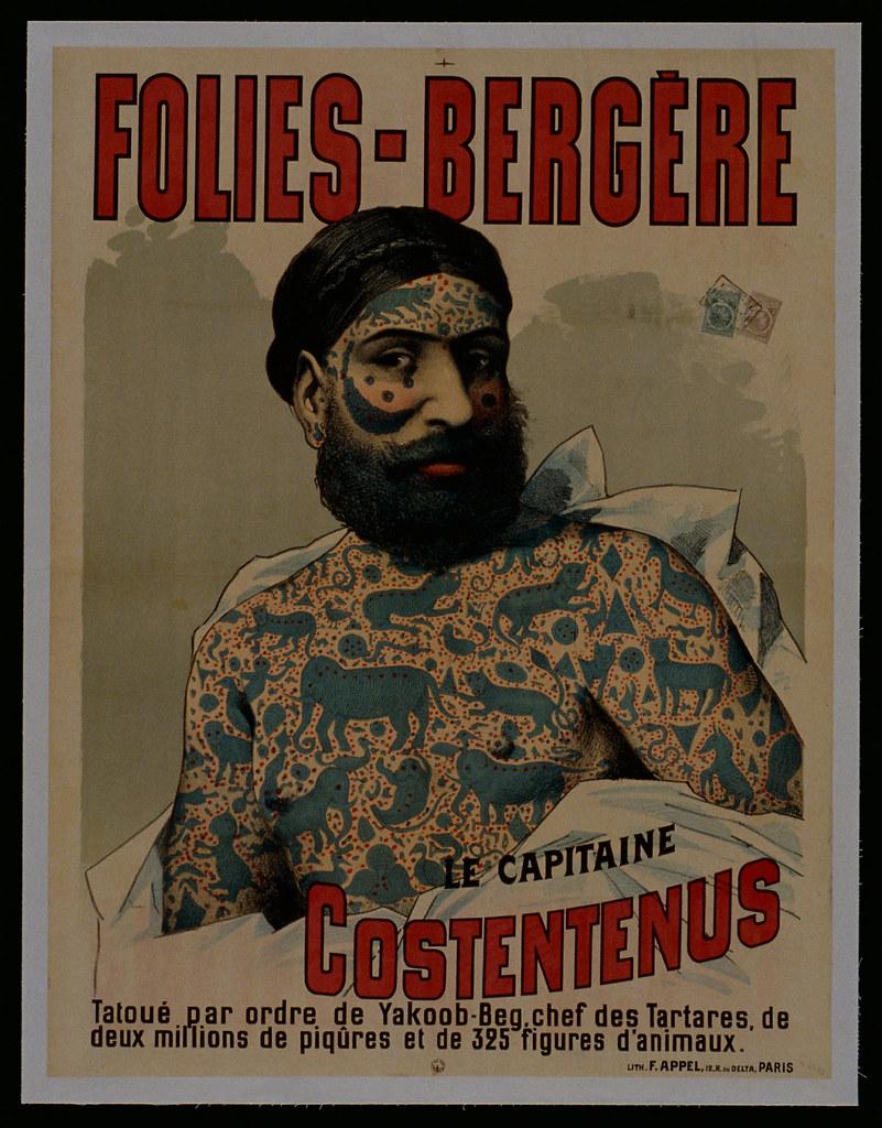 Le capitaine Costentenus tatoué par l'ordre de Yakoob-Beg