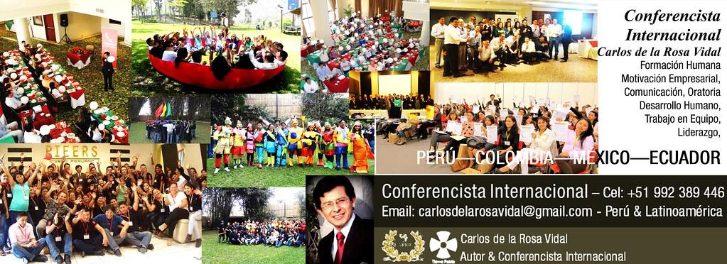 Conferencias Motivacionales | Carlos de la Rosa Vidal