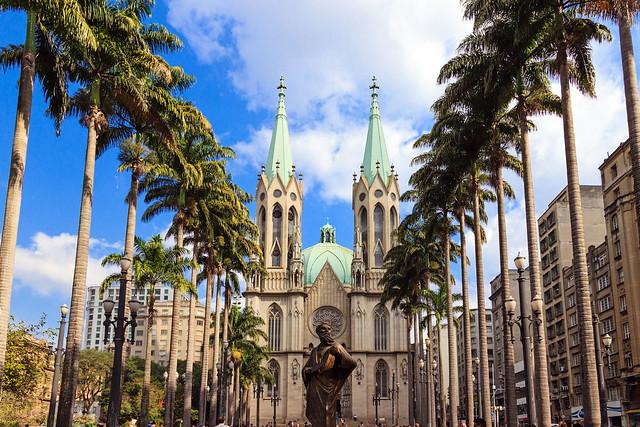 The São Paulo Cathedral, Brazil