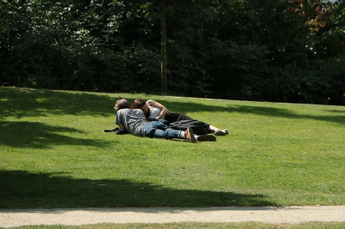 Vondelpark: relax al parco