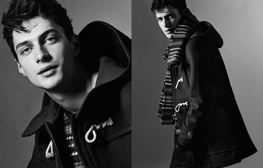 Burberry Black Label FW14_005Matthew Bell