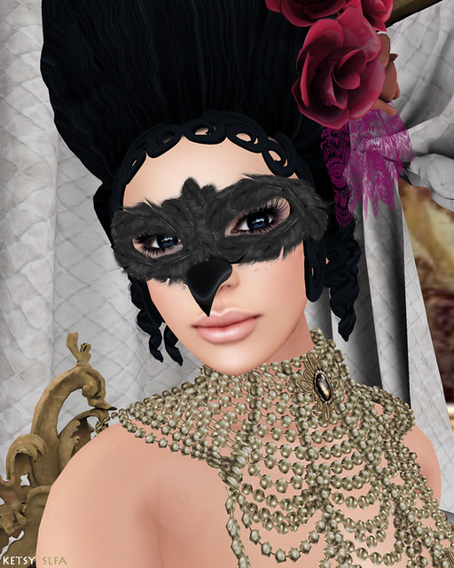 Genre - Baroque Down Palace (New Post @ Second Life Fashion Addict