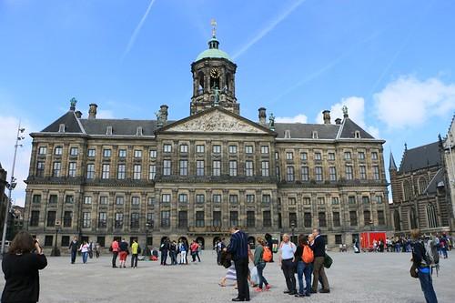 Piazza Dam: palazzo reale