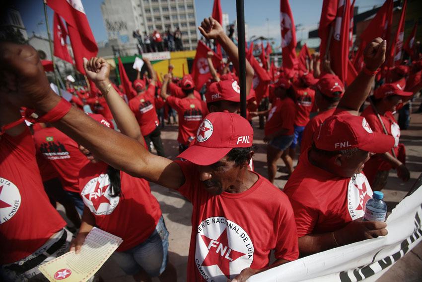(24)BRASIL-SAO PAULO-MUNDIAL 2014-PROTESTA