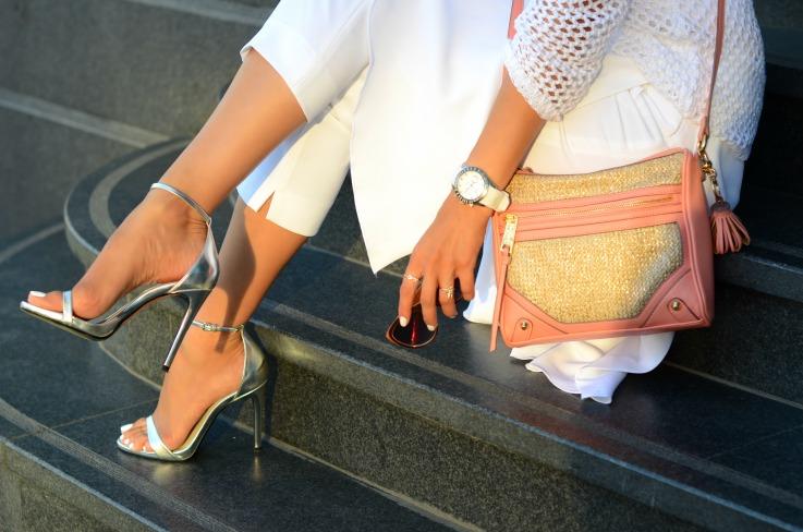 DSC_6746 Zara silver heels,Jessica Simpson bag