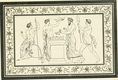 """Image from page 156 of """"Outlines from the figures and compositions upon the Greek, Roman, and Etruscan vases of the late Sir William Hamilton with engraved borders"""" (1804)"""