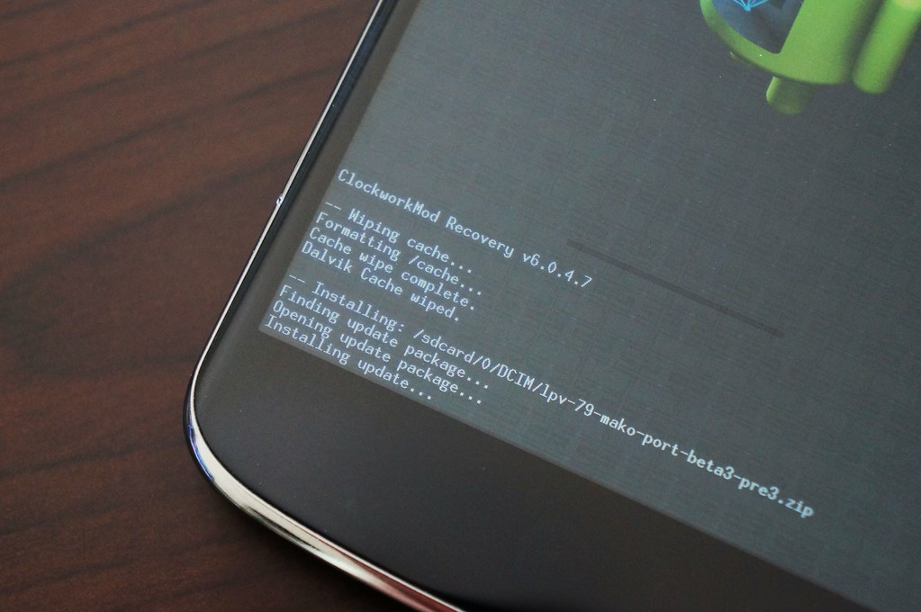 Android L Developer Previewをアップデート
