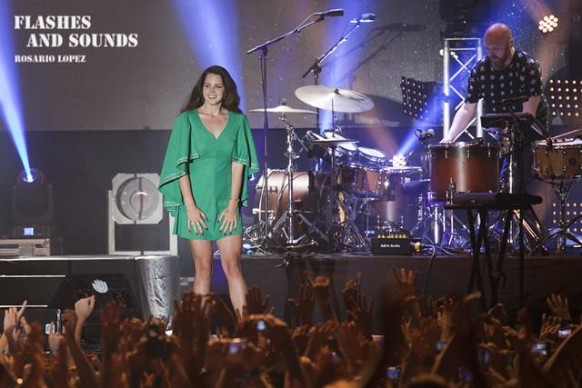 Lana Del Rey en el Vida Festival
