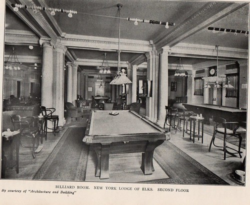 Elks Lodge No. 1, NYC, NY (Billiards Room)